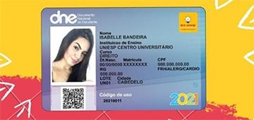 DCE inicia processo de confecção da Carteira de Estudante 2021