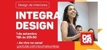 Integra Design acontece de forma remota nesta terça (01)