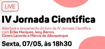Jornada Científica será realizada nesta sexta