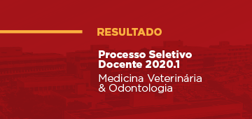 Processo Seletivo Docente UNIESP 2020.1: Resultado